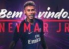 É oficial: Neymar é jogador do Paris Saint-Germain (Divulgação)