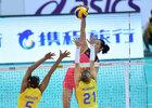 Brasil perde da China na estreia da fase final do Grand Prix (Foto: FIVB/Divulgação)